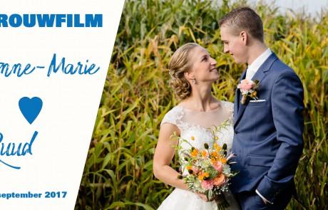Het Film Bedrijf trouwfilm van Ruud en Anne-Marie