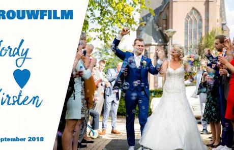 Trouwfilm Jordy en Kirsten Het Film Bedrijf