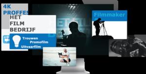 Film bedrijf achtergrond breed